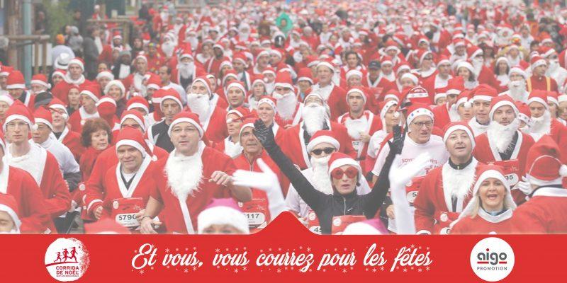 actualité Aigo promotion, fidèle partenaire de la Corrida de Noël