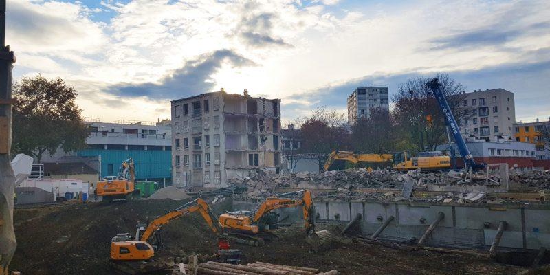 actualité Cinétic à Issy-les-Moulineaux, un chantier dynamique